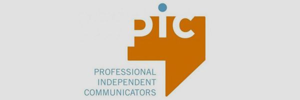 Professional Independent Communicators logo.